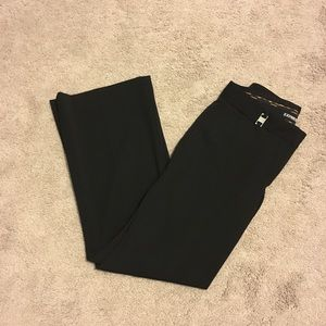 Express Black Editor Pants